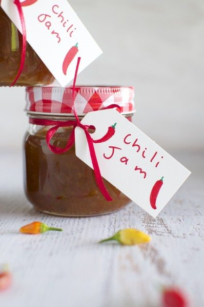 Chili jam via www.clairekcreations.com
