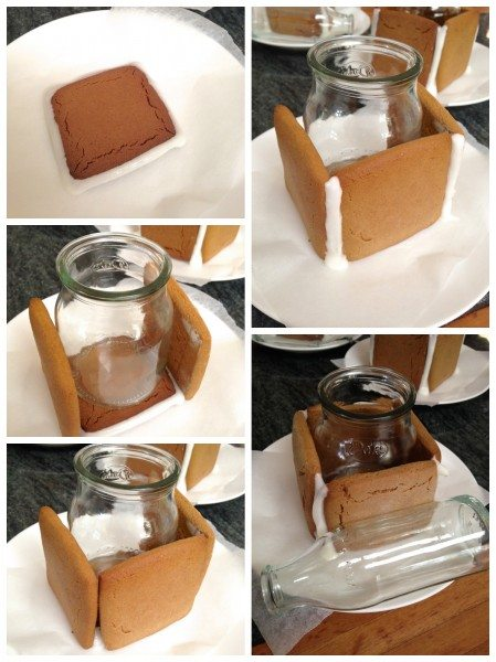 How to make gingerbread presents via www.clairekcreations.com