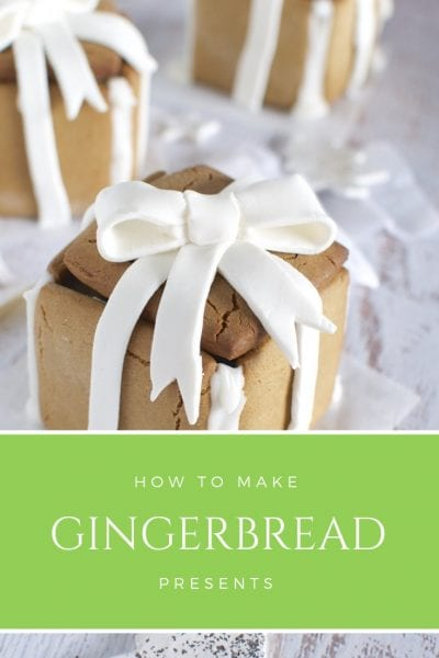 How to make gingerbread presents