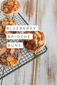Blueberry brioche buns via www.clairekcreations.com