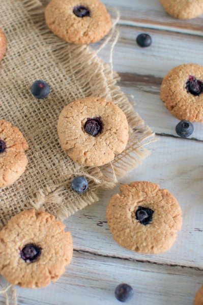 Blueberry drop biscuits via www.clairekcreations.com