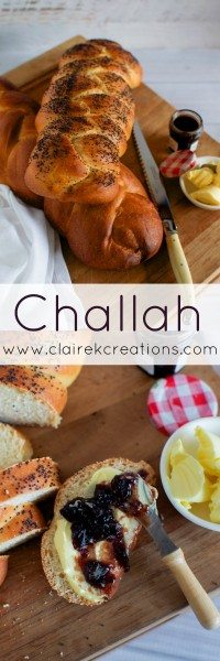 How to make Challah bread via www.clairekcreations.com