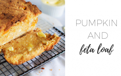Pumpkin and feta loaf