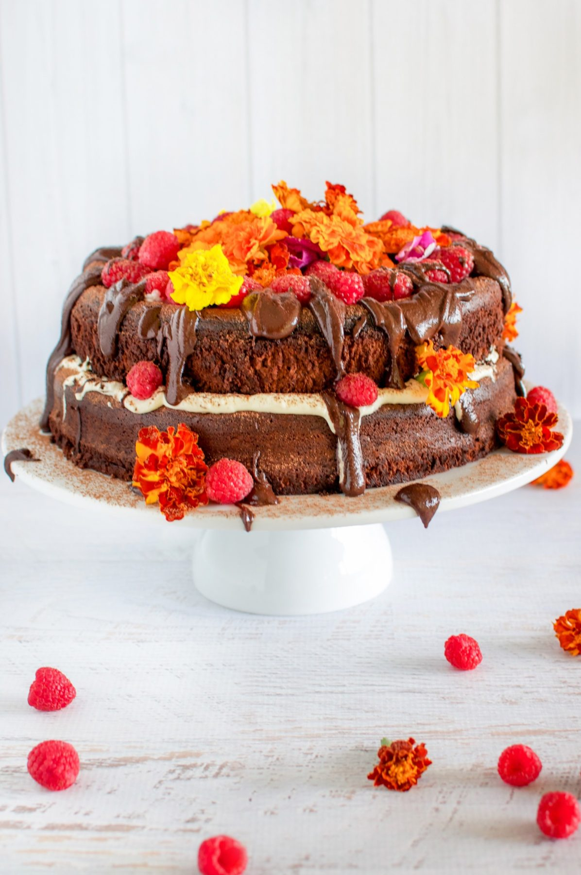 gluten and dairy free chocolate celebration cake claire k creations