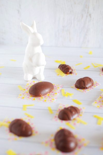 Simple and easy healthy chocolate easter eggs