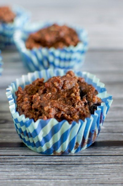 Choc blueberry muffins with quinoa (gluten free) via www.clairekcreations.com