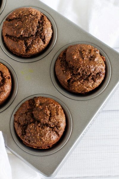 Gluten free chocolate chip muffins via www.clairekcreations.com