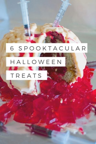 Looking for some terrifying deliciousness this Halloween_ Look no further than 6 spooktacular halloween treats.