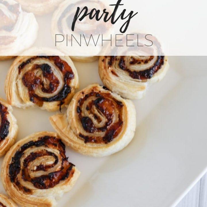 Ham and Pesto party pinwheels via www.clairekcreations.com