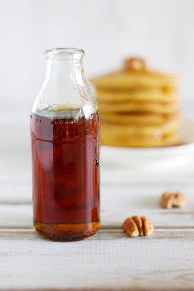 Maple pumpkin pancakes (dairy & gluten free) via www.clairekcreations.com