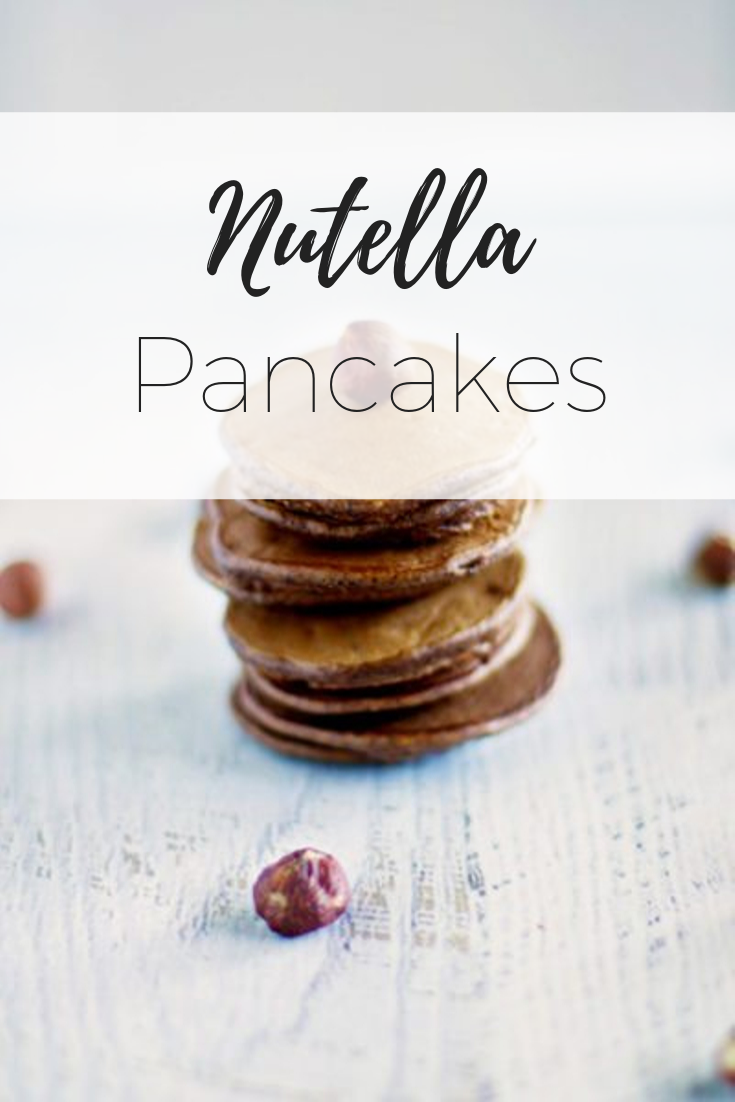 Delicious Nutella Pancakes