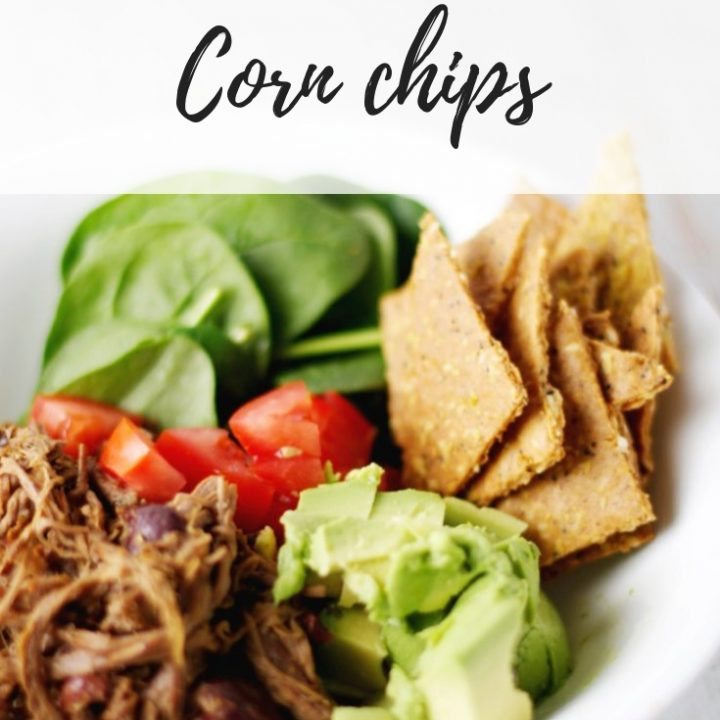 Paleo corn chips (adapted from Eat Drink Paleo)