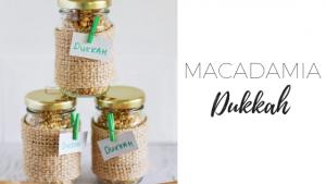Macadamia dukkah via www.clairekcreations.com