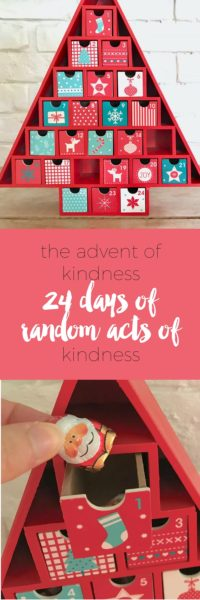 The Advent of Kindness via https://www.clairekcreations.com