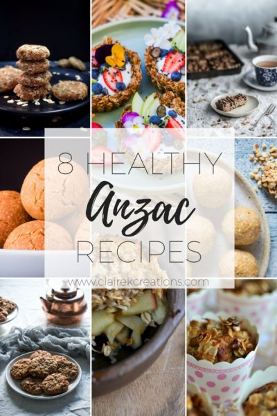 8 healthy anzac recipes