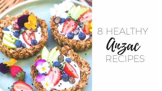 8 healthy ANZAC recipes