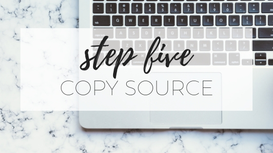 How to download video from a private Facebook group - step five - copy source