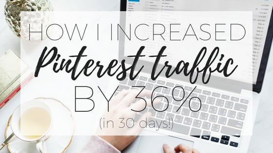 How to increase traffic from Pinterest