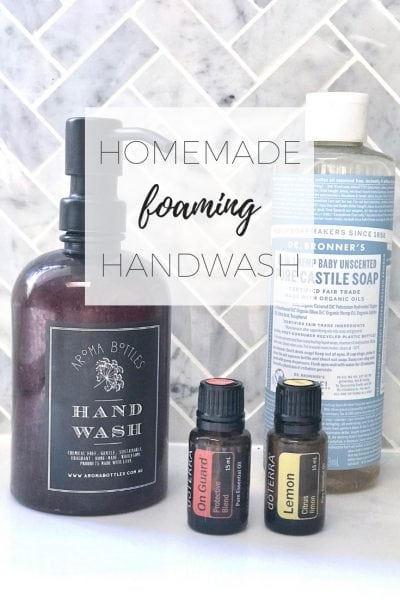 How to make foaming hand wash at home