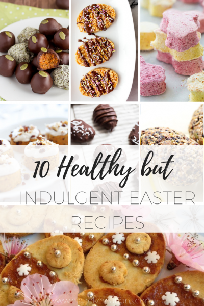10 healthy but indulgent easter recipes