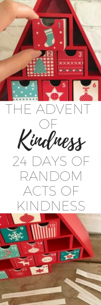 24 days of random acts of kindness