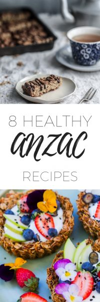 8 Healthy ANZAC recipes for ANZAC day- gluten free, dairy free and sugar free recipes