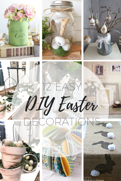 Easy Easter decorations that you can do at home