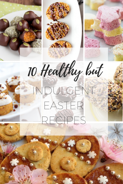 Healthy and indulgent for easter