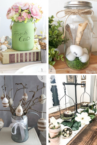 Do it yourself Easter decorations