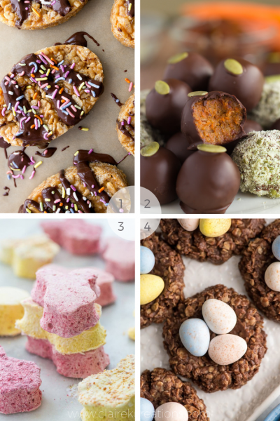 Indulgent and healthy Easter recipes