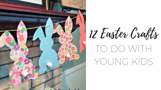 12 Easter crafts for young kids