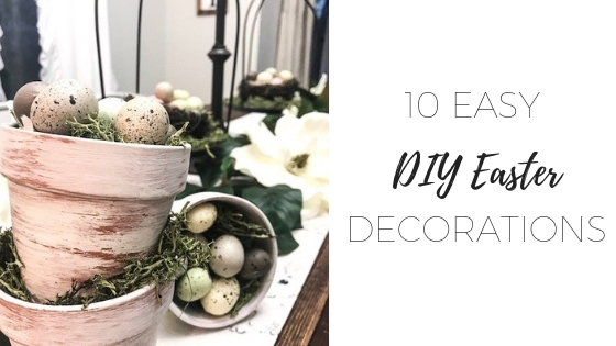 DIY Easter decorations – 10 easy ideas