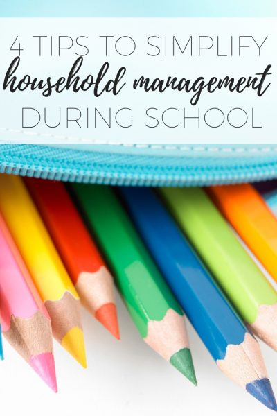 4 tips to simplify household management during the school term