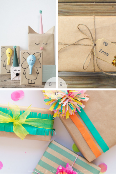 10 brown paper wrapping ideas