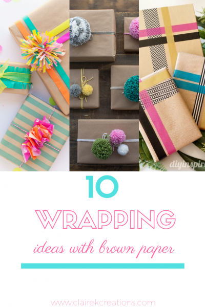 10 easy and simple gift wrapping ideas with brown paper