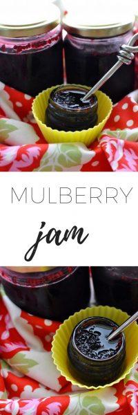 Mulberry jam - a classic easy delicious jam recipe