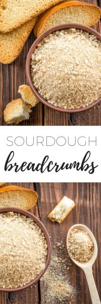 How to make sourdough breadcrumbs