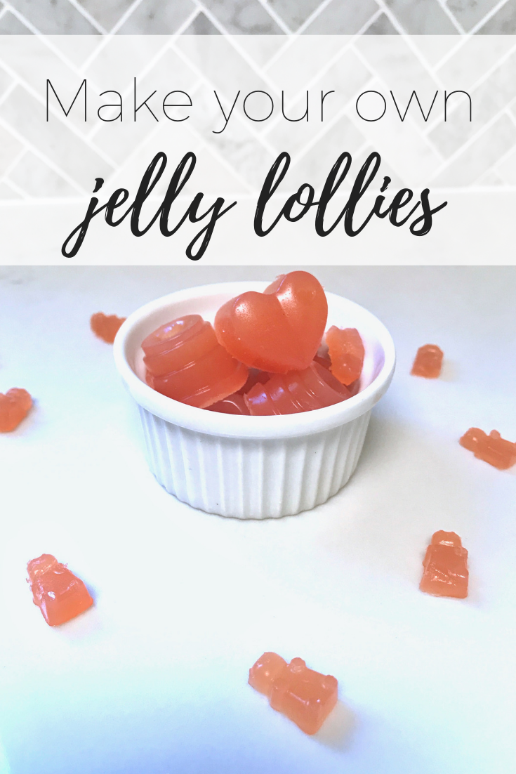 Homemade jelly lollies