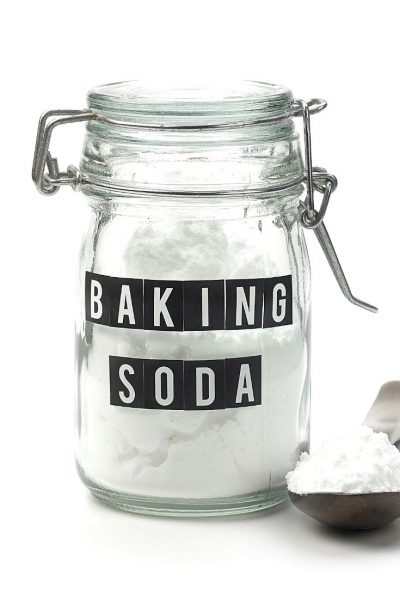 Baking soda in a jar