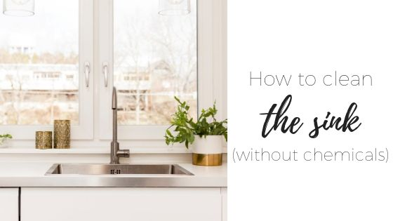 How to clean the kitchen drain