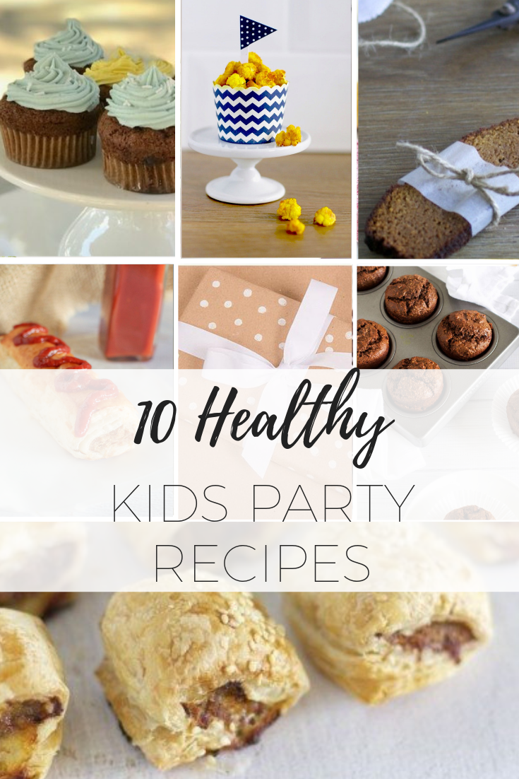 10 healthy kids party recipes via www.clairekcreations.com