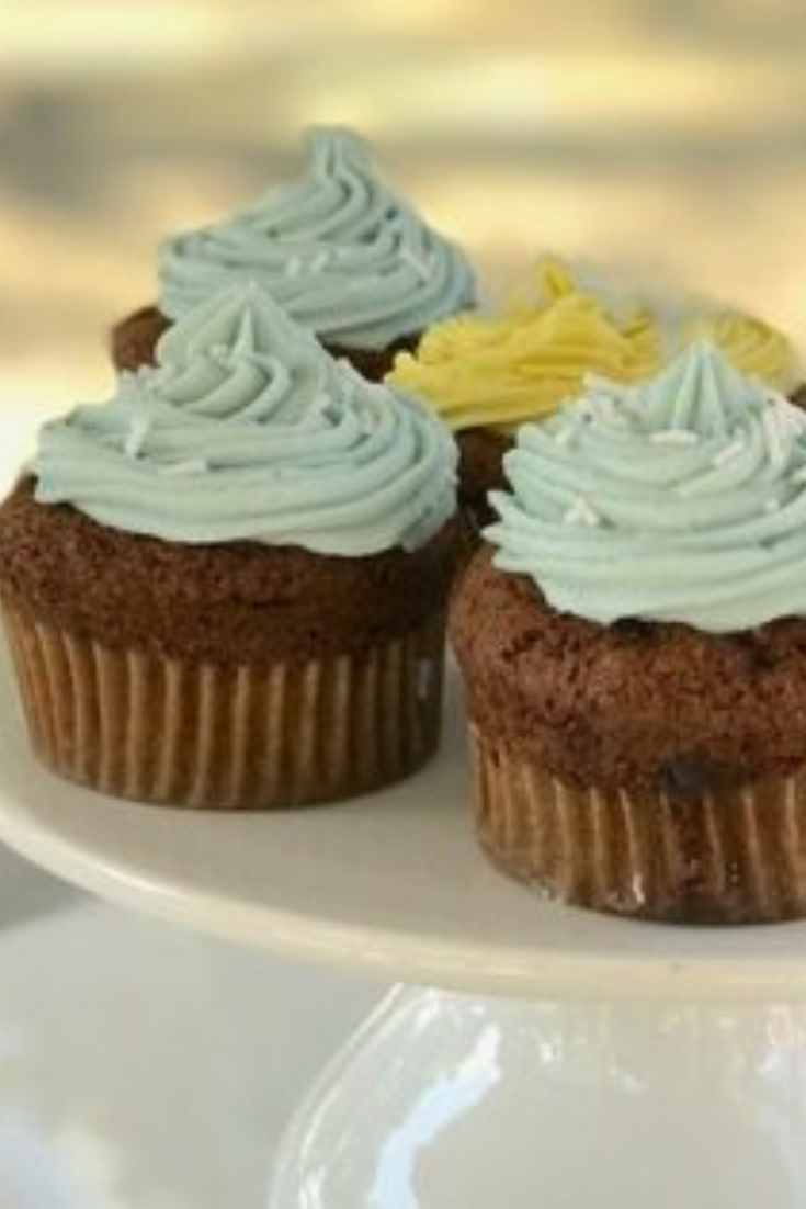 Super quick wholefood vanilla cupcakes