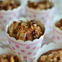 Anzac banana muffins - dairy free
