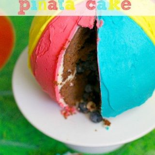Pleasant Beach Ball Pinata Cake Claire K Creations Birthday Cards Printable Benkemecafe Filternl