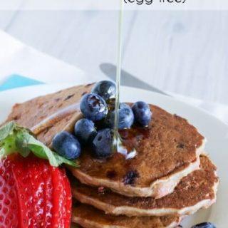 Berry pancakes (egg free)