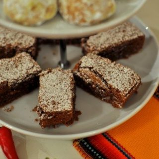 Mexican chocolate cinnamon brownies