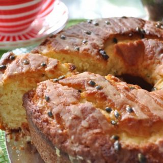 The desperate housewife's passionfruit yoghurt cake