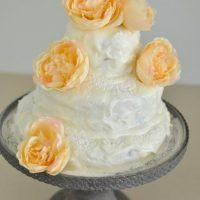 Hummingbird cake with lemon cream cheese icing