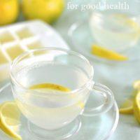 Lemon tea - for good health