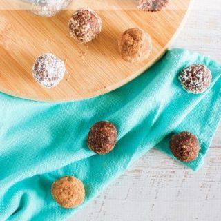 Nutella bliss balls